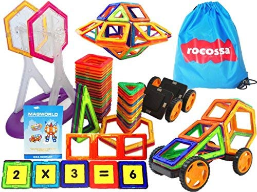 Smart Magnetic Building Set  100 Pieces