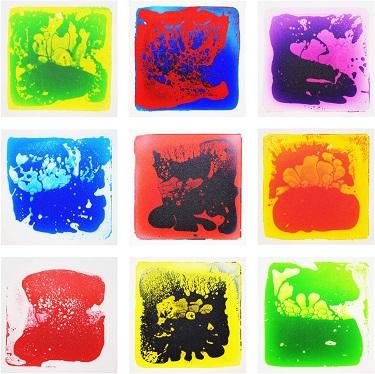 Liquid Sensory Tiles
