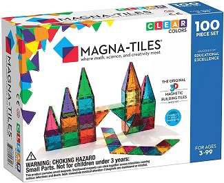 Magna Tiles Clear Colors Set of 100