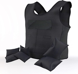 Combination Weighted and Compression Vest