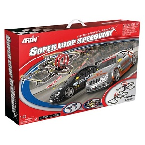 Artin 143 Super Loop Speedway Wireless Road Racing Set