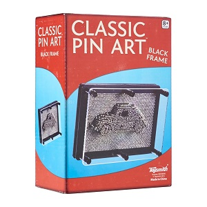"Pin Art 3.75"" x 5"" Black Frame"