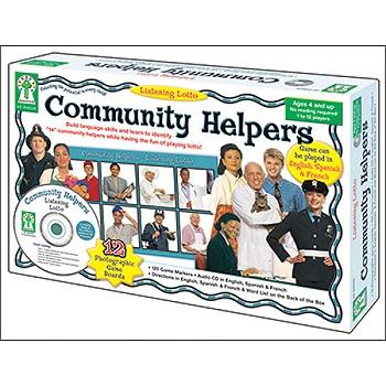 Listening Lotto Community Helpers
