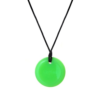Button Pendant - Glow In The Dark!