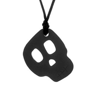 Skull Pendant - Black
