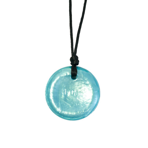 Disc Pendant Light Blue - Splash