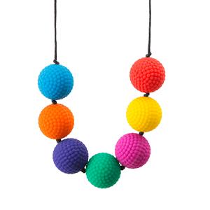 Chewable Bead Necklace -Berries