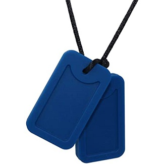 Dog Tag Blue