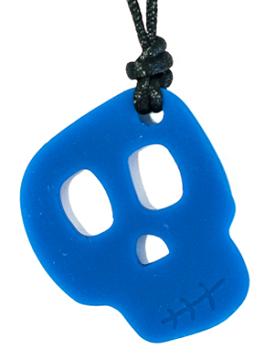 Skull Pendant - Elixer (Blue)