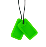 Dog Tags Green - Creeper