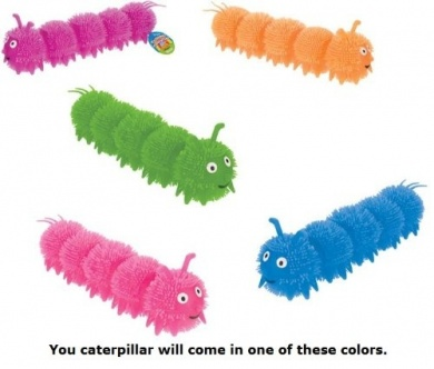 Colourful Caterpillars-Various Colours