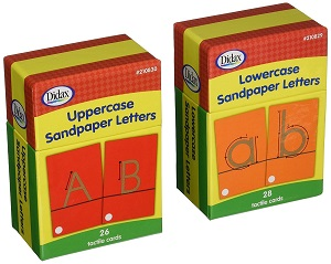 Sandpaper Letters - Upper and Lower Case