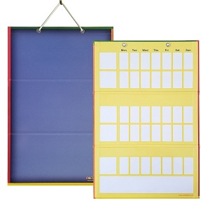 2 in 1 Magnetic Trifold Reversible Board