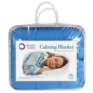 Dream Away Weighted Blanket   10 lbs, or 4.53 kg