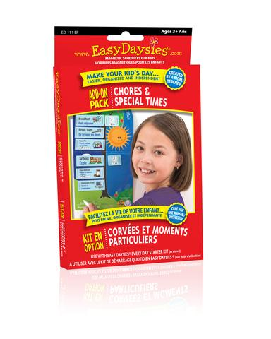 Easy Daisies Chores and Special Times Add On Pack