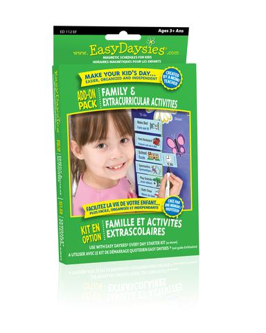 Easy Daisies Family & Extracurriculars Add-On Pack Add On Pack