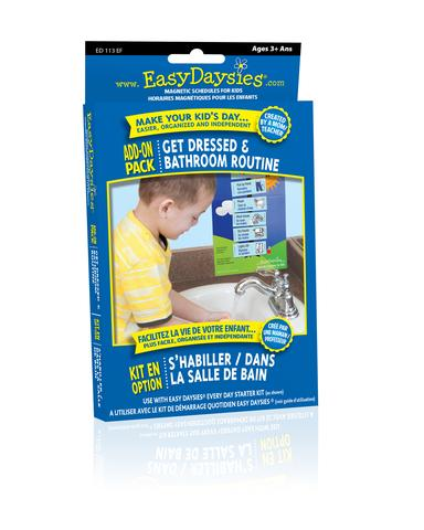 Easy Daisies Get Dressed and Bathroom Routines Add-On Pack