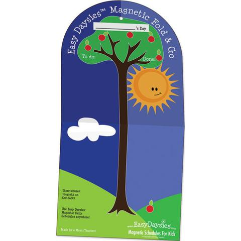 Easy Daisies Fold n Go Board with Magnet