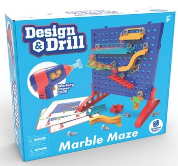Design and Drill - Make A Marble Maze