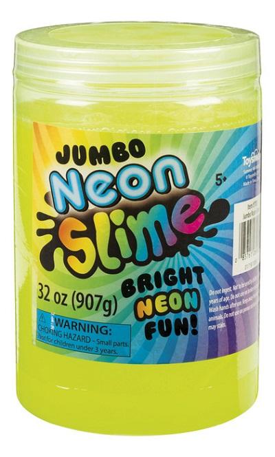 Jumbo Neon Slime!