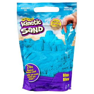 Kinetic Sand - 2 lbs (907 gms) - Blue Only