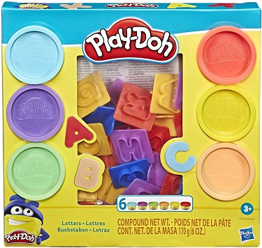 Play Doh - Fundamental Letters
