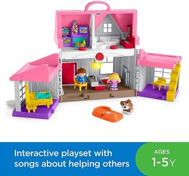 Little People Big Helpers Home by Fisher Price