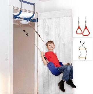 Gym1 - Deluxe Indoor Doorway Gym for Kids.
