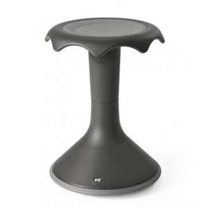Hokki Stool-Quick Ship Option-Black Grey