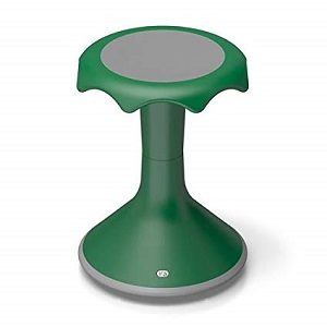 "Hokki Stool-Quick Ship Option-Green 20"" only"
