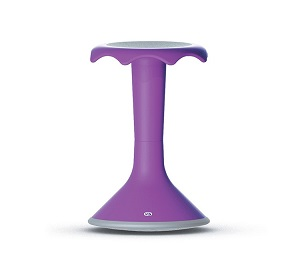 Hokki Stool....Purple Stool Helping to Build Schools in Rwanda.....Limited Time and Quantity Offer