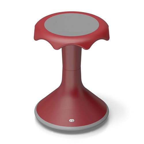 "Hokki Stool.....Quick Ship Option.....18"" Red.......2 Only"