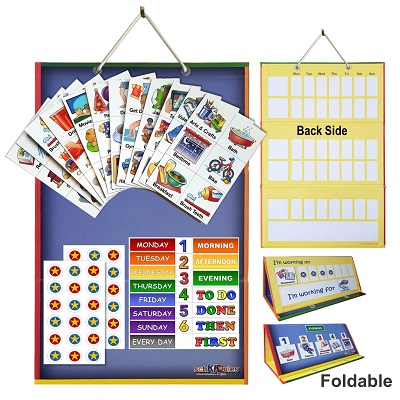 2  in 1 Board and Magnets Home Bundle