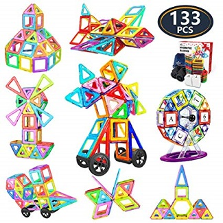 Creative Magnetic Building Blocks  133 Pieces
