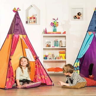 B. Active Teepee Tent - Pink Only