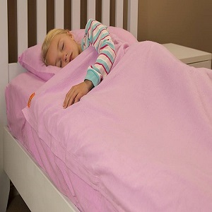 Kids Zip Sheets - Lilac Flannel