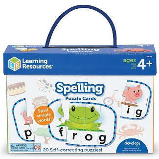 Puzzle Cards - Spelling 3 & 4 Letter Words