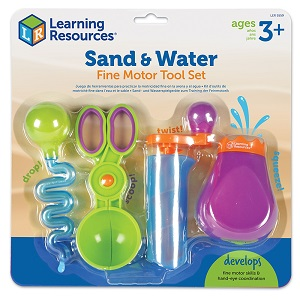 Sand and Water Fine Motor Tools Set
