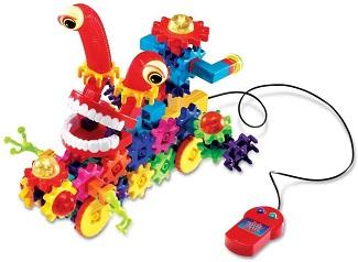 Gears! Gears! Gears! Motorized Wacky Wigglers
