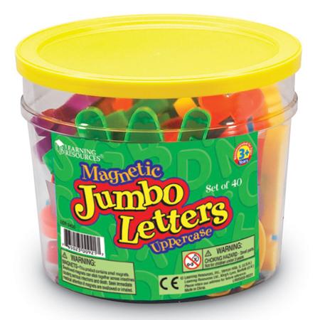 Jumbo Letters Magnetic Uppercase