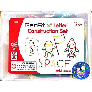 Geostix Letter Construction Set