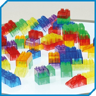 Translucent Module Blocks - Set of 90