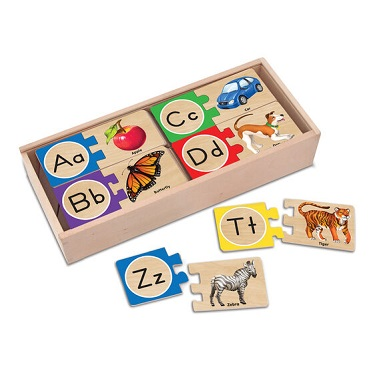 Self-Correcting A to Z Letter Puzzles