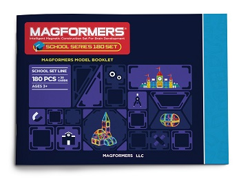 Magformers 180 School and Clinic Set
