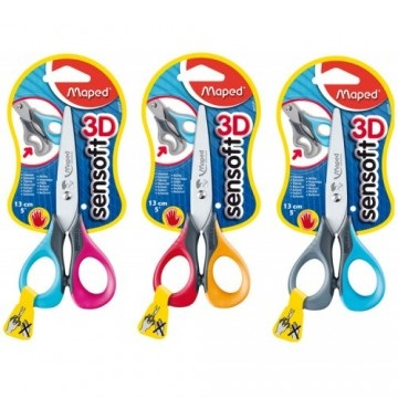 Sensoft 3D Left-Handed Scissors with Flexible Handles