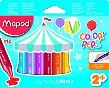 Wax Crayons My First Jumbo 12 Pack
