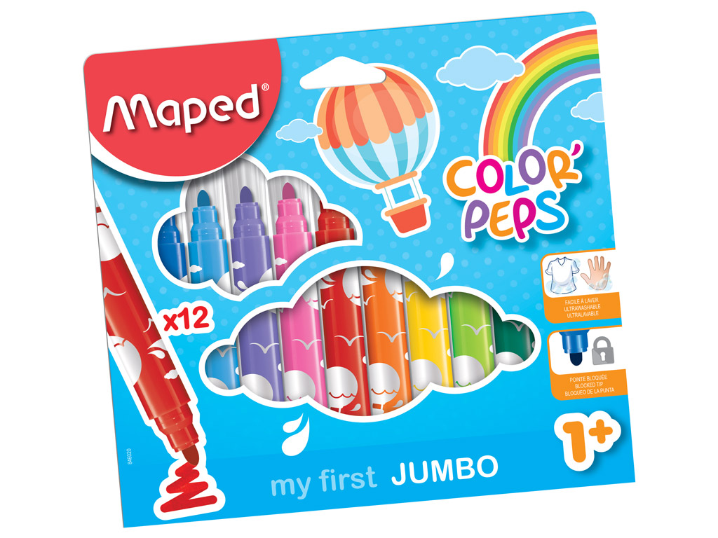 My First Jumbo Colour Markers 12 pack