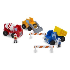 Construction Vehicle Set - Wooden