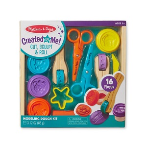 Cut, Sculpt & Roll Modeling Dough Kit