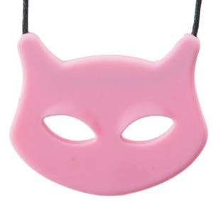 """Cat Pendant - Pink - 'Mew Chew"""""""